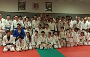 JUDO JUJITSU SELF DEFENSE ENTRAINEMENT DE MASSE